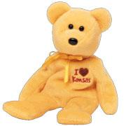 Ty Beanie Baby I Love Kansas the Bear