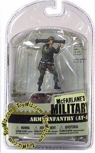 McFarlane Toys Military Soldiers 3 Inch Series 1 Mini Figure Army Infantry AT-4 (Bazooka) (*Random Ethnicity)