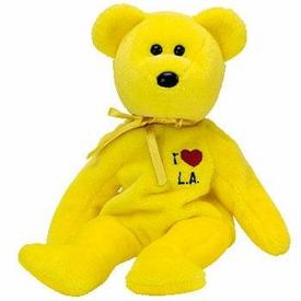 Ty Beanie Baby I Love LA the Bear