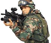 McFarlane Toys Military Soldiers 3 Inch Series 1 Mini Figure Army Paratrooper (*Random Ethnicity)