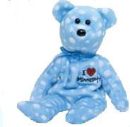 Ty Beanie Baby I Love Minnesota the Bear