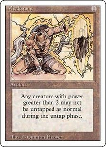 Magic the Gathering Revised Edition Single Card Rare Meekstone