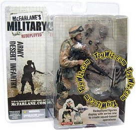 McFarlane Toys Military Soldiers REDEPLOYED Series 1 Action Figure U.S. Army Desert Infantry (*Random Ethnicity)