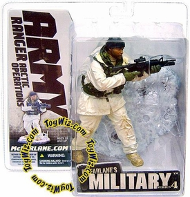McFarlane Toys Military Soldiers Series 4 Action Figure Army Ranger Arctic Operations (*Random Ethnicity)