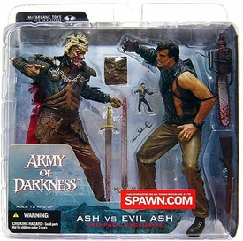 McFarlane Toys Movie Maniacs Exclusive 2-Pack Ash Vs. Evil Ash