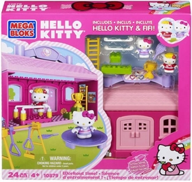 Hello Kitty Mega Bloks Set #10879 Workout Time!