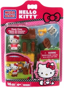 Hello Kitty Mega Bloks Set #10925 Music Class