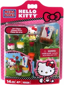 Hello Kitty Mega Bloks Set #10926 Art Class