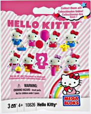 Hello Kitty Mega Bloks #10826 Series 1 Minifigure Mystery Pack [1 RANDOM Mini Figure]
