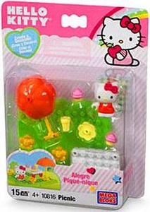 Hello Kitty Mega Bloks Set #10816 Picnic