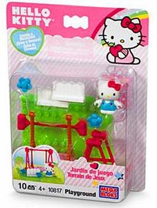 Hello Kitty Mega Bloks Set #10817 Playground BLOWOUT SALE!