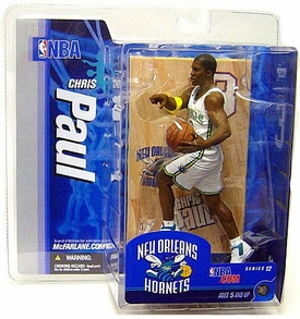 McFarlane Toys NBA Sports Picks Series 12 Action Figure Chris Paul (New Orleans Hornets) White Uniform Variant