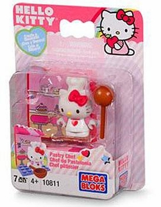 Hello Kitty Mega Bloks Set #10811 Pastry Chef
