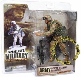 McFarlane Toys Military Soldiers Series 2 (2nd Tour of Duty) Action Figure Desert Infantry Grenadier (*Random Ethnicity)