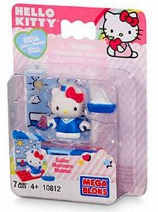 Hello Kitty Mega Bloks Set #10812 Sailor