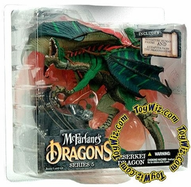 McFarlane Toys Dragons Series 5 Action Figure Berserker Dragon Clan 5