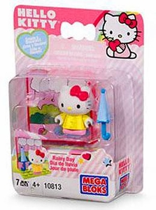 Hello Kitty Mega Bloks Set #10813 Rainy Day BLOWOUT SALE!