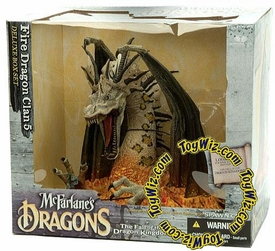 McFarlane Toys Dragons Series 5 Action Figure Deluxe Boxed Set Fire Dragon Clan 5