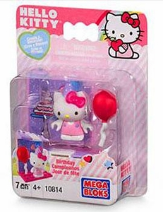 Hello Kitty Mega Bloks Set #10814 Birthday