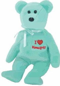 Ty Beanie Baby I Love Minneapolis the Bear