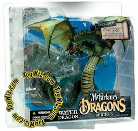 McFarlane Toys Dragons Series 5 Action Figure Water Dragon Clan 5