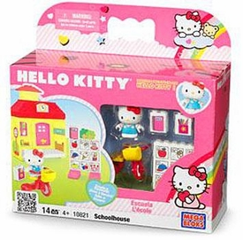 Hello Kitty Mega Bloks Set #10821 Schoolhouse