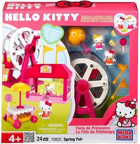 Hello Kitty Mega Bloks Exclusive Set #10825 Spring Fair