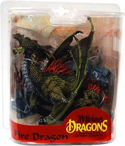 McFarlane Toys Dragons Series 7 Action Figure Fire Dragon Clan
