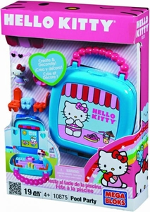 Hello Kitty Mega Bloks Set #10875 Pool Party