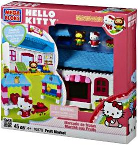Hello Kitty Mega Bloks Set #10878 Fruit Market