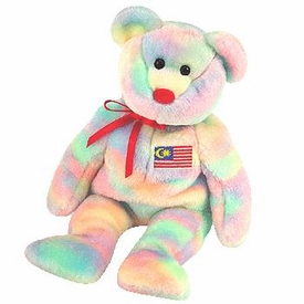 Ty Beanie Baby Exclusive Wirabear the Malaysian Bear