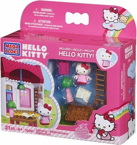Hello Kitty Mega Bloks Set #10891 Library