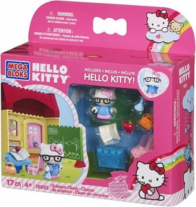 Hello Kitty Mega Bloks Set #10892 Science Class