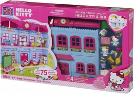 Hello Kitty Mega Bloks Set #10893 Schoolhouse