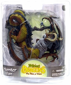 McFarlane Toys Dragons Series 8 Action Figure Hunter Dragon