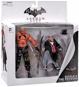 DC Collectibles Arkham City Action Figure 2-Pack Penguin & Sickle