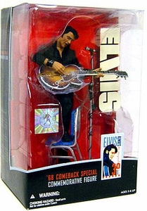 McFarlane Toys Action Figure Elvis Commemorative Edition '68 Comeback Special