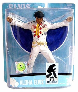 McFarlane Toys Action Figure Elvis Presley #8 Aloha From Hawaii
