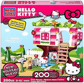 Hello Kitty Mega Bloks Set #10931 Tree House