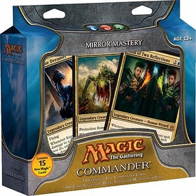 Magic the Gathering Commander EDH Deck Mirror Mastery [Blue, Red & Green]