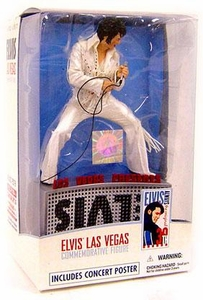 McFarlane Toys Action Figure Elvis Presley Commemorative Las Vegas Edition [Upside Down Error] Very Rare!