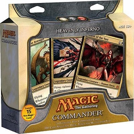 Magic the Gathering Commander EDH Deck Heavenly Inferno [White, Black & Red]