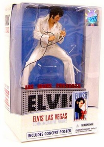 McFarlane Toys Action Figure Elvis Presley Commemorative Las Vegas Edition [Includes Concert Poster!]