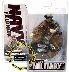 McFarlane Toys Military Soldiers Series 4 Action Figure Navy Field Medic [Caucasian]