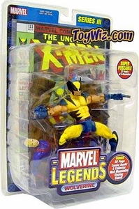 Marvel Legends Series 3 Action Figure Wolverine