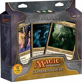 Magic the Gathering Japanese Language Commander EDH Deck Counterpunch [Black, Green & White]