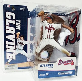 McFarlane Toys MLB Sports Picks Series 12 Action Figure Tom Glavine (Atlanta Braves) Very Hard to Find!