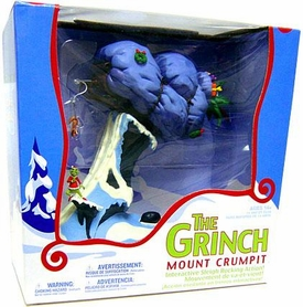 McFarlane Toys Dr. Seuss How the Grinch Stole Christmas Action Figure Deluxe Boxed Set Mount Crumpet