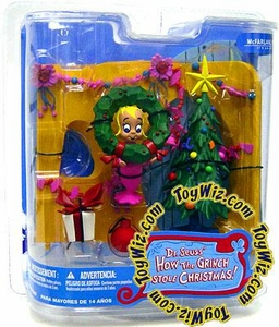 McFarlane Toys Dr. Seuss How the Grinch Stole Christmas Action Figure Cindy Lou Who