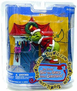 McFarlane Toys Dr. Seuss How the Grinch Stole Christmas Action Figure You're a Mean One, Mr. Grinch